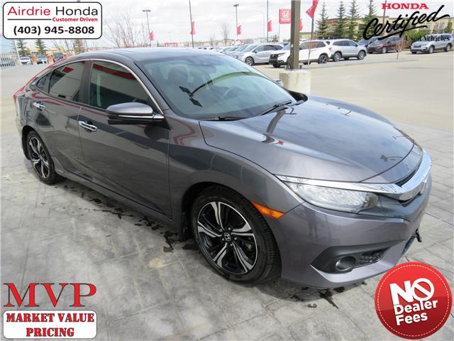 2018 Honda Civic Touring (Stk: 200351A) in Airdrie - Image 1 of 30