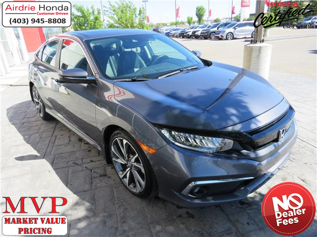2019 Honda Civic Touring (Stk: 216267A) in Airdrie - Image 1 of 8