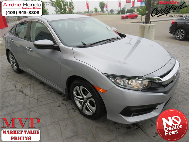 2017 Honda Civic LX (Stk: 216290A) in Airdrie - Image 1 of 8