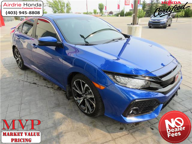 2019 Honda Civic Si Base (Stk: 216297A) in Airdrie - Image 1 of 8