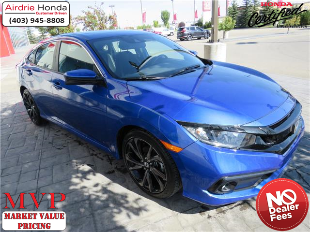 2019 Honda Civic Sport (Stk: 216324A) in Airdrie - Image 1 of 28