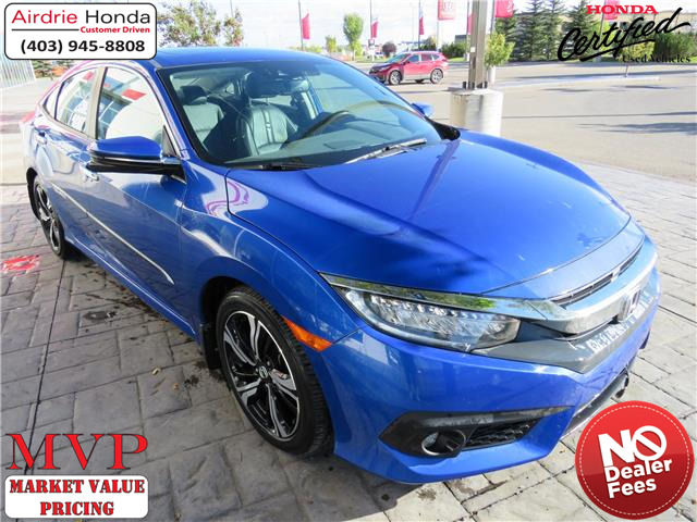 2017 Honda Civic Touring (Stk: U1775) in Airdrie - Image 1 of 8