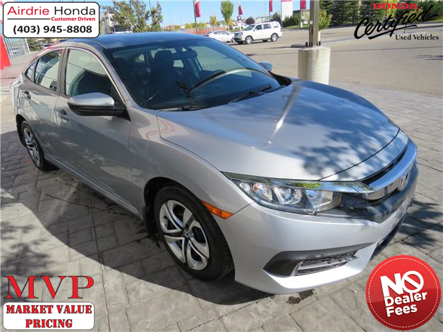 2017 Honda Civic LX (Stk: 220057A) in Airdrie - Image 1 of 8