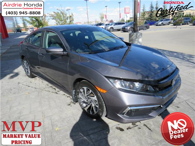 2019 Honda Civic EX (Stk: 210326A) in Airdrie - Image 1 of 30