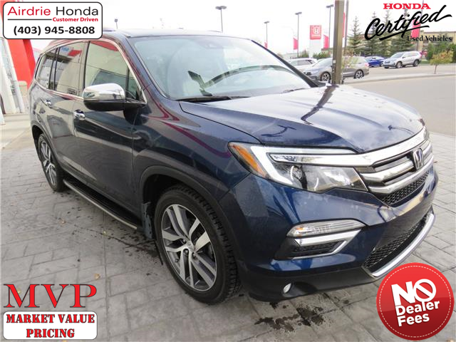 2016 Honda Pilot Touring (Stk: 220026A) in Airdrie - Image 1 of 8