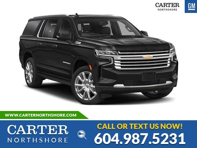 New 2021 Chevrolet Suburban RST  - North Vancouver - Carter GM North Shore