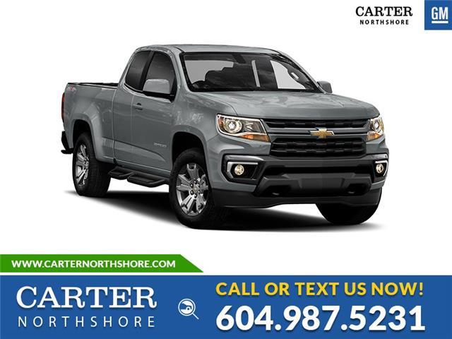 New 2021 Chevrolet Colorado WT  - North Vancouver - Carter GM North Shore