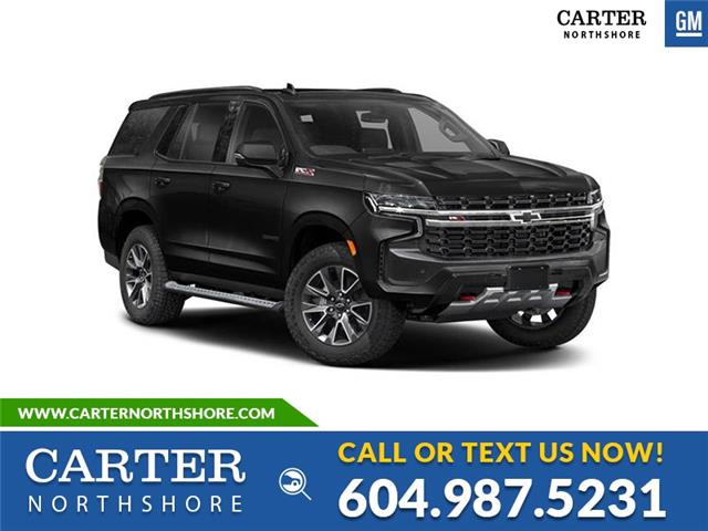 New 2021 Chevrolet Tahoe Z71  - North Vancouver - Carter GM North Shore