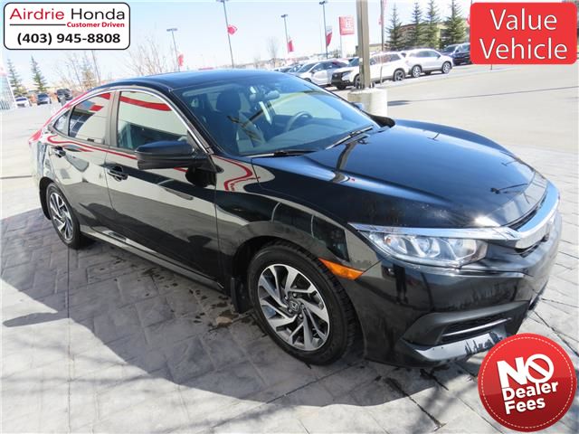2016 Honda Civic EX (Stk: 210139A) in Airdrie - Image 1 of 28