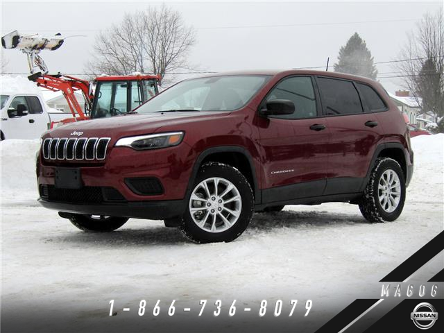 2019 Jeep Cherokee Sport (Stk: 21015) in Magog - Image 1 of 22