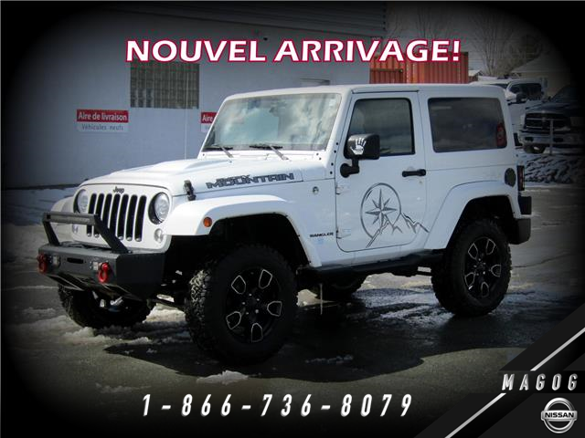2017 Jeep Wrangler Sahara (Stk: 21064) in Magog - Image 1 of 12