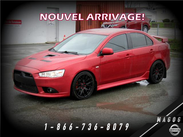 2011 Mitsubishi Lancer Ralliart (Stk: 221184A) in Magog - Image 1 of 14