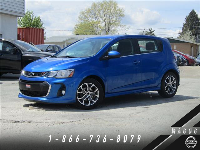 2018 Chevrolet Sonic LT Auto (Stk: 220135A) in Magog - Image 1 of 22