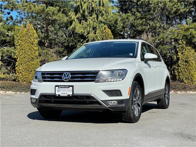 2018 Volkswagen Tiguan Comfortline (Stk: VW1249) in Vancouver - Image 1 of 12