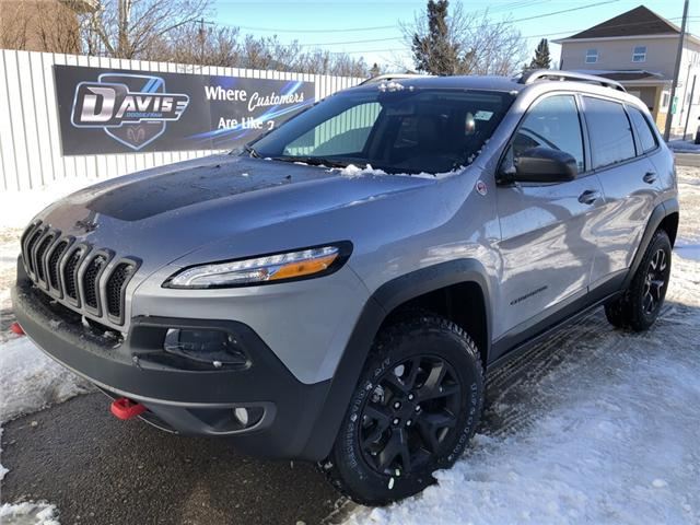 2018 Jeep Cherokee Trailhawk (Stk: 12431) in Fort Macleod - Image 1 of 19