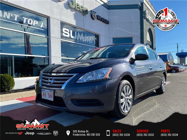 2014 Nissan Sentra 1.8 SV (Stk: S0041C) in Fredericton - Image 1 of 11