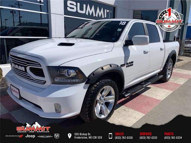 2018 RAM 1500 Sport (Stk: S1187A) in Fredericton - Image 1 of 17