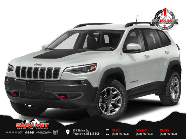 2021 Jeep Cherokee Trailhawk (Stk: S1210) in Fredericton - Image 1 of 9