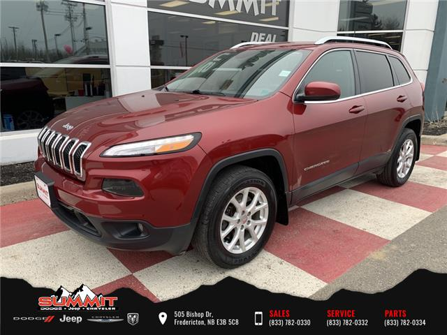 2017 Jeep Cherokee North (Stk: S1184A) in Fredericton - Image 1 of 17