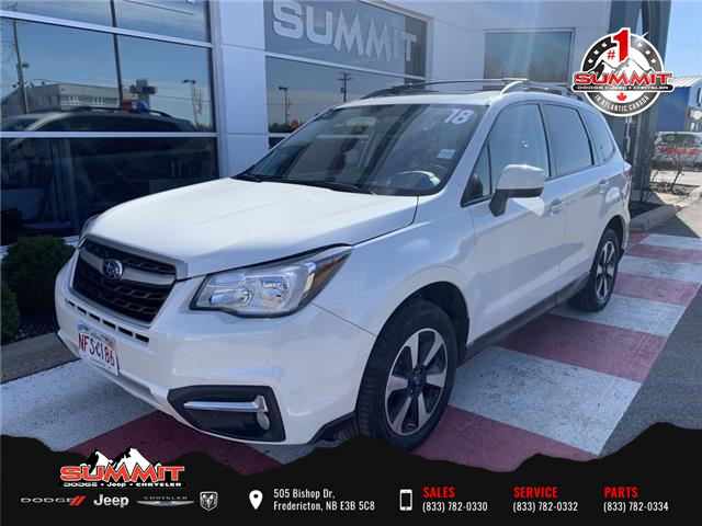 2018 Subaru Forester 2.5i Touring (Stk: S21045) in Fredericton - Image 1 of 15