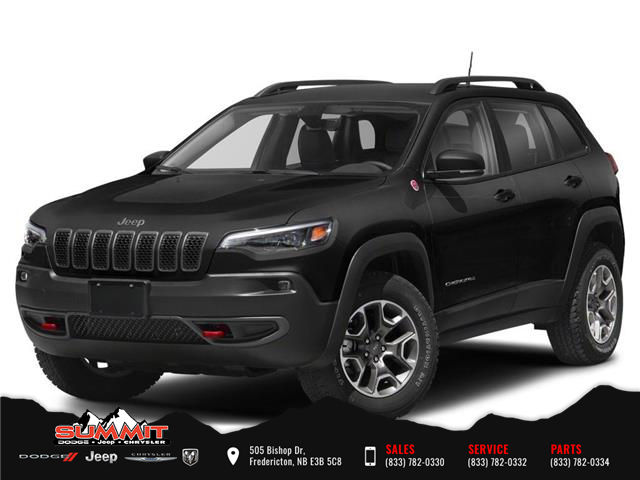 2020 Jeep Cherokee Trailhawk (Stk: S21049) in Fredericton - Image 1 of 9