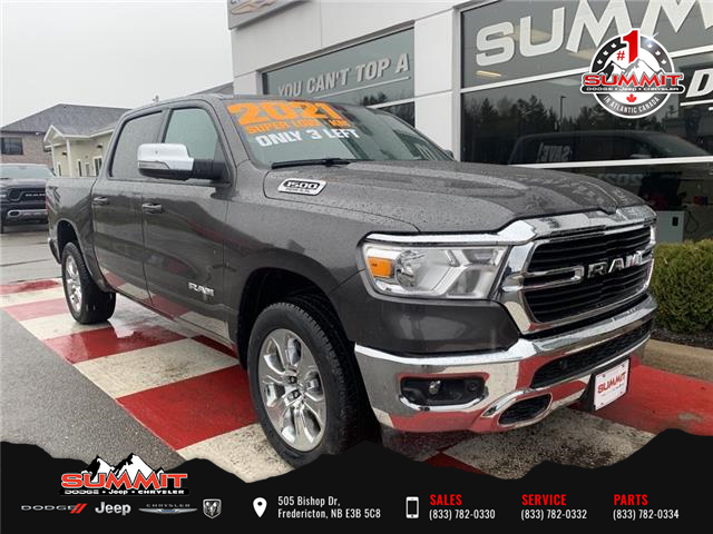 2021 RAM 1500 Big Horn (Stk: S21037) in Fredericton - Image 1 of 16