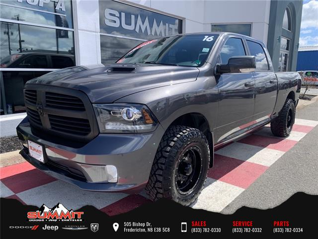 2016 RAM 1500 Sport (Stk: S1228A) in Fredericton - Image 1 of 21