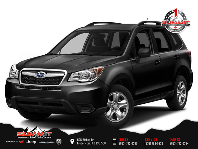 2016 Subaru Forester 2.5i (Stk: S1209A) in Fredericton - Image 1 of 9