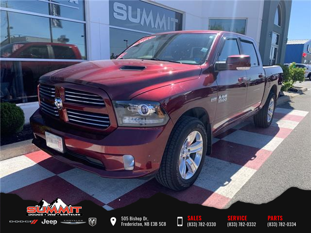 2017 RAM 1500 Sport (Stk: S1287A) in Fredericton - Image 1 of 15