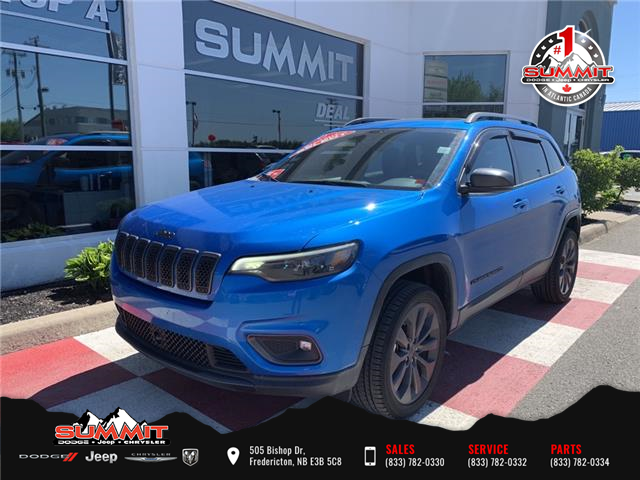 2021 Jeep Cherokee North (Stk: S1180A) in Fredericton - Image 1 of 16