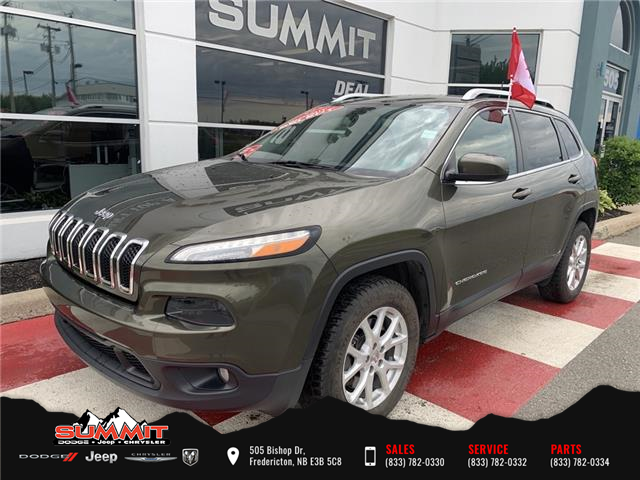 2016 Jeep Cherokee North (Stk: S1286B) in Fredericton - Image 1 of 15