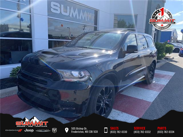 2019 Dodge Durango R/T (Stk: S21061) in Fredericton - Image 1 of 21