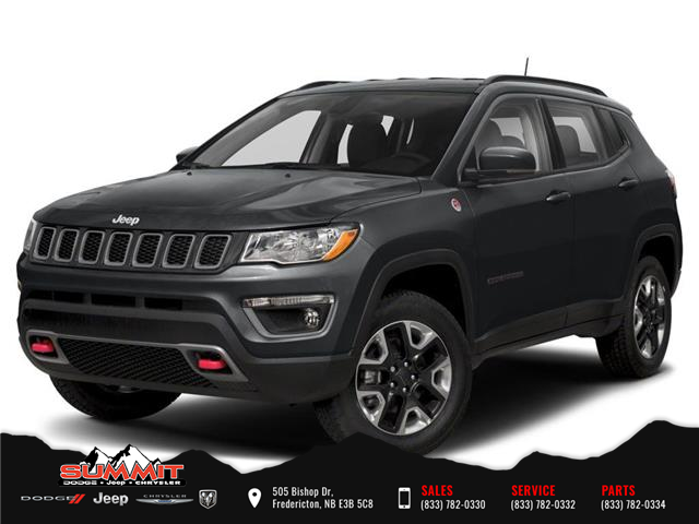 2021 Jeep Compass Trailhawk (Stk: S1421) in Fredericton - Image 1 of 9