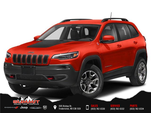 2021 Jeep Cherokee Trailhawk (Stk: S1412) in Fredericton - Image 1 of 9