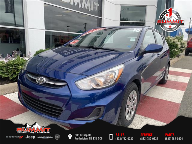 2016 Hyundai Accent GL (Stk: S21049B) in Fredericton - Image 1 of 17