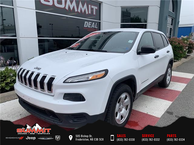 2017 Jeep Cherokee Sport (Stk: S1125E) in Fredericton - Image 1 of 14