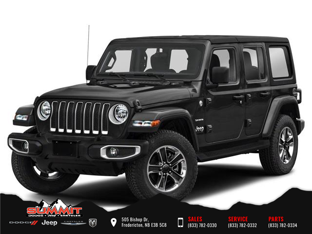 2021 Jeep Wrangler Unlimited Sahara (Stk: S1521) in Fredericton - Image 1 of 9