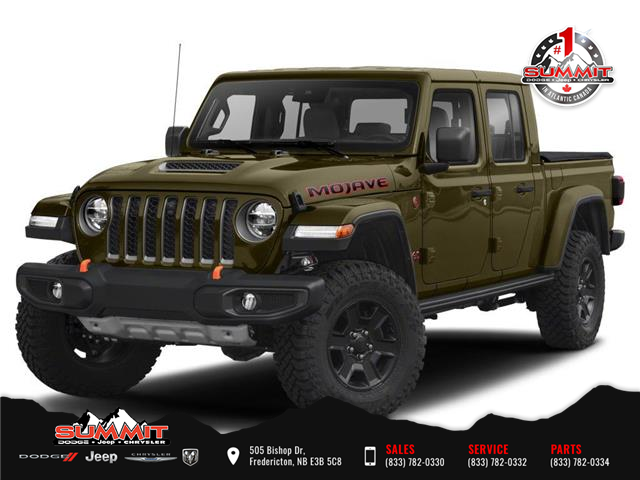2021 Jeep Gladiator Mojave (Stk: ) in Fredericton - Image 1 of 9