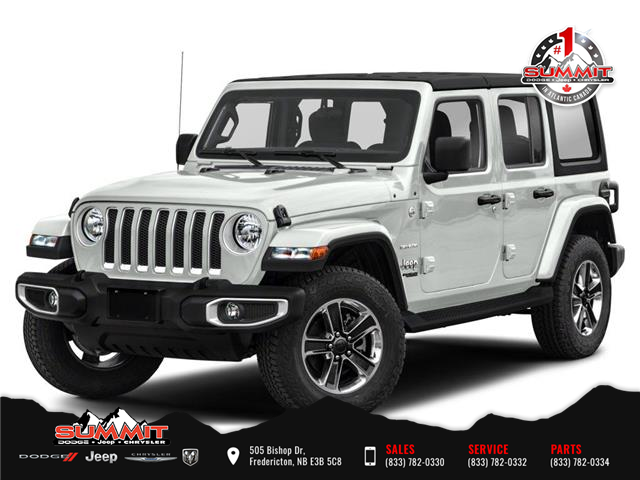 2021 Jeep Wrangler Unlimited Sahara (Stk: S1553) in Fredericton - Image 1 of 9