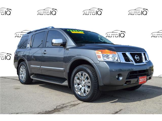 2015 Nissan Armada Platinum (Stk: M164A) in Grimsby - Image 1 of 22