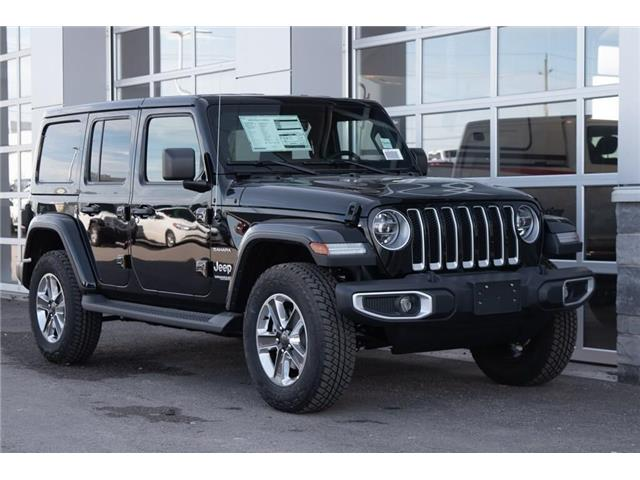 2020 Jeep Wrangler Unlimited Sahara (Stk: 42915) in Innisfil - Image 1 of 23