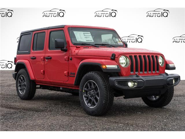 2021 Jeep Wrangler Unlimited Sport (Stk: 44326) in Innisfil - Image 1 of 23
