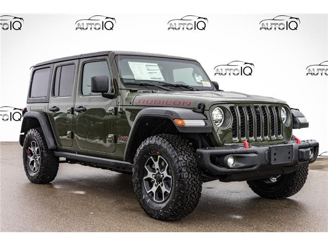 2021 Jeep Wrangler Unlimited Rubicon (Stk: 44442) in Innisfil - Image 1 of 18