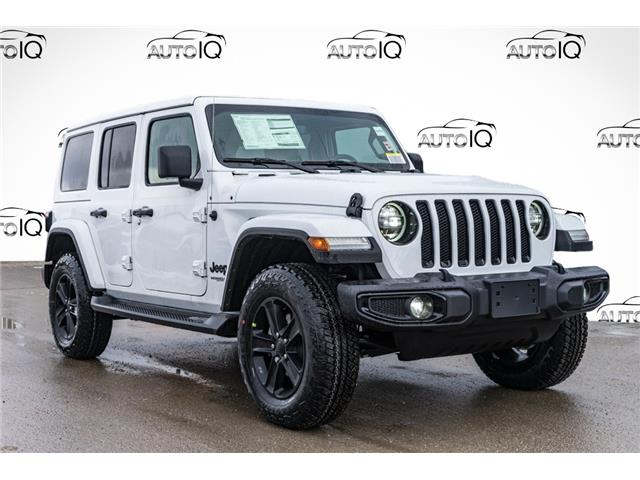 2021 Jeep Wrangler Unlimited Sahara (Stk: 44476) in Innisfil - Image 1 of 28
