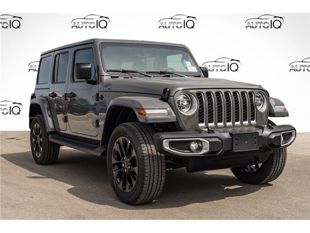 2021 Jeep Wrangler Unlimited 4xe Sahara (Stk: 44848) in Innisfil - Image 1 of 26