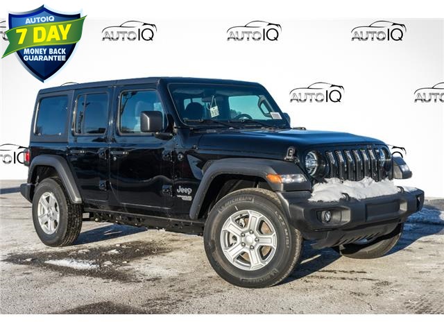 2021 Jeep Wrangler Unlimited Sport (Stk: 34303) in Barrie - Image 1 of 26