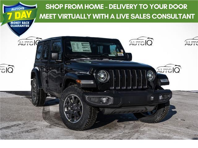 2021 Jeep Wrangler Unlimited Sport (Stk: 34680) in Barrie - Image 1 of 19