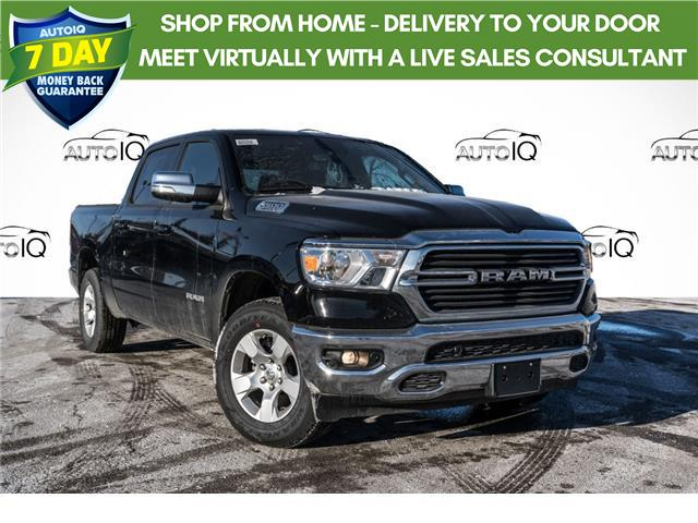 2021 RAM 1500 Big Horn (Stk: 34676) in Barrie - Image 1 of 21