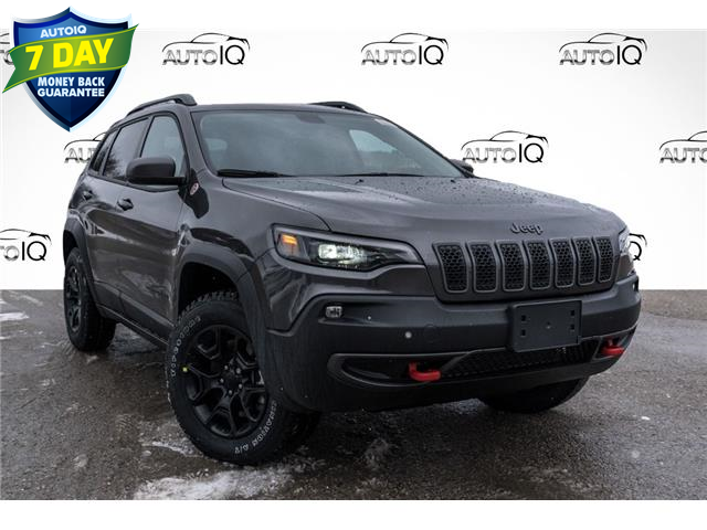 2021 Jeep Cherokee Trailhawk (Stk: 34713) in Barrie - Image 1 of 25