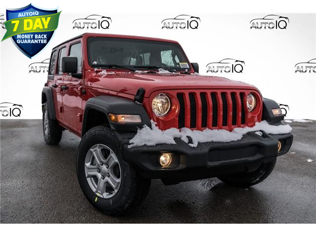 2021 Jeep Wrangler Unlimited Sport (Stk: 34790) in Barrie - Image 1 of 22